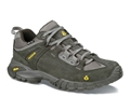 "Vasque Mantra 2.0 GTX 4"" Waterproof Hiking Shoes Leather Beluga and Old Gold Men's"