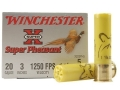 "Product detail of Winchester Super-X Super Pheasant Ammunition 20 Gauge 3"" 1-1/4 oz #5 Copper Plated Shot"