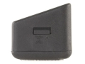 Arredondo Checkered Extended Magazine Base Pad +5 Glock 17, 22, 24, 26, 27, 31, 32, 33, 34, 35, 37 Nylon Black