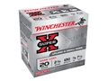"Winchester Super-X Game Load Ammunition 20 Gauge 2-3/4"" 7/8 oz #7-1/2 Shot"