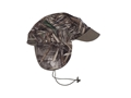 Banded Softshell Brimmed Beanie Polyester Realtree Max-5 Camo