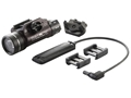 Streamlight TLR-1 HL Long Gun Kit Weaponlight LED with 2 CR123A Batteries with Remote Pressure Switch Aluminum Matte