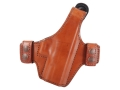 Bianchi Allusion Series 130 Classified Outside the Waistband Holster Right Hand Glock 19, 23, 32 Leather Tan