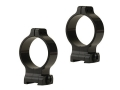 Talley 30mm Quick Detachable Scope Rings With Screw Lock Matte High
