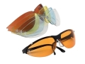 Browning Claymaster Shooting Glasses Orange, Yellow, Clear, Smoke and Blue Lenses