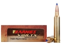 Barnes VOR-TX Ammunition 7mm Remington Magnum 140 Grain Tipped Triple-Shock X Bullet Boat Tail Lead-Free Box of 20