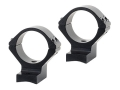 Talley Lightweight 2-Piece Scope Mounts with Integral 30mm Rings Browning Titanium Matte Medium