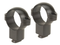 Leupold 1&quot; Dual-Dovetail Rings Matte Super-High