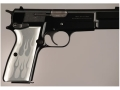 Hogue Extreme Series Grip Browning Hi-Power Flames Aluminum Clear
