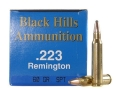 Product detail of Black Hills Remanufactured Ammunition 223 Remington 60 Grain Soft Point Box of 50