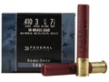 "Product detail of Federal Game-Shok Hi-Brass Ammunition 410 Bore 3"" 11/16 oz #7-1/2 Shot Box of 25"