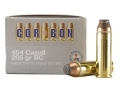 Cor-Bon Hunter Ammunition 454 Casull 285 Grain Bonded Core Soft Point Box of 20