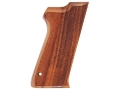 Hogue Fancy Hardwood Grips S&W 5900 Checkered Goncalo Alves