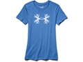 Under Armour Women's Antler Triblend Short Sleeve T-Shirt Charged Cotton