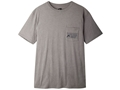 Mountain Khakis Men's Drawn Logo T-Shirt Short Sleeve Cotton Athletic Gray XL 46-48