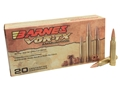 Barnes VOR-TX Ammunition 5.56x45mm NATO 62 Grain Triple-Shock X Bullet Hollow Point Lead-Free Box of 20