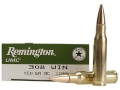 Remington UMC Ammunition 308 Winchester 150 Grain Full Metal Jacket Box of 20