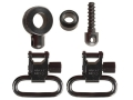 "Uncle Mike's Quick Detachable Sling Swivel Set Browning BLR 1"" Black"