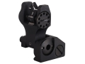 Troy Industries Rear Flip-Up Battle Sight Di-Optic Aperture (DOA) AR-15 Aluminum Black