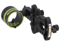HHA Sports Optimizer Lite OL-5019 1-Pin Bow Sight .019&quot; Pin Diameter Right Hand Aluminum Black