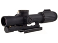Trijicon VCOG Rifle Scope 1-6x 24mm First Focal Illuminated Segmented Circle 300 Blackout Ballistic Reticle with Integral TA51 Flattop Mount Matte