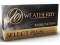 Weatherby Ammunition 7mm Weatherby Magnum 120 Grain Barnes Tipped Triple-Shock X Bullet Hollow Point Lead-Free Box of 20