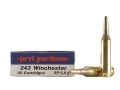 Product detail of Prvi Partizan Ammunition 243 Winchester 90 Grain Soft Point Box of 20