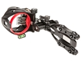 "Archer Xtreme Rogue 5-Pin Bow Sight .019"" Diameter Pins Ambidextrous Blackout"