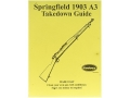 Radocy Takedown Guide &quot;Springfield 1903 A3&quot;