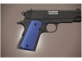 Hogue Extreme Series Grip 1911 Officer Aluminum Matte Blue