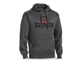 Leupold Men's Reticle Logo Hoodie Cotton/ Polyester Blend Grey