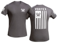 Vortex Patriot T-Shirt Grey Cotton
