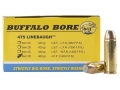 Buffalo Bore Ammunition 475 Linebaugh 400 Grain Jacketed Flat Nose Box of 20