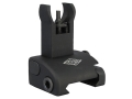 Yankee Hill Machine QDS Quick Deploy Flip-Up Hooded Front Sight Handguard Height AR-15 Flat-Top Aluminum Matte