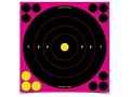 "Birchwood Casey Shoot-N-C Pink Target 8"" Bullseye Package of 30"