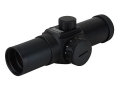 Product detail of Bushnell Trophy Red Dot Sight 30mm Tube 1x 6 MOA Dot with Weaver-Style Rings Matte