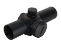 "Walther Top Point 2 Red Dot Sight 1"" Tube 1x 5 MOA Dot with Weaver-Style Rings Matte"