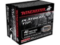 Product detail of Winchester Supreme Ammunition 41 Remington Magnum 240 Grain Platinum Tip Hollow Point