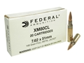 Federal Ammunition 7.62x51mm NATO 149 Grain XM80 Full Metal Jacket Case of 500 (25 Boxes of 20)