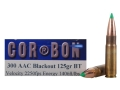 Cor-Bon Hunter Ammunition 300 AAC Blackout 125 Grain Nosler Ballistic Tip Bullet Box of 20