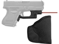 Crimson Trace Laserguard with Pocket Holster Glock Gen 3 and Gen 4, 19, 23, 25, 26, 27, 32, 33, 36, 38, 39 Polymer Black