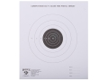 Hoppe&#39;s Slow Fire Target 50&#39; Pistol Package of 20