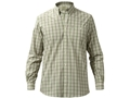 Beretta Men's Never Iron Drip Dry Shirt Long Sleeve Cotton