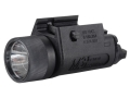 Insight Tech Gear M3 Tactical Illuminator Flashlight Halogen Bulb  fits Picatinny or Glock-Style Rails Polymer Black