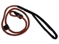 Product detail of Mud River Hugo Slip Dog Leash Nylon Brown