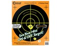 "Caldwell Orange Peel Target 8"" Self-Adhesive Bullseye Package of 10"