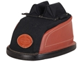 Edgewood Original Rear Shooting Rest Bag Tall with Short Ears and Regular Stitch Width Leather and Nylon Unfilled