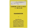 Product detail of &quot;.30 M1 Carbine&quot; Handbook
