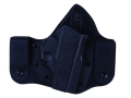 Product detail of DeSantis Intruder Inside the Waistband Holster Right Hand Ruger LC9 Kydex and Leather Black