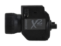 Product detail of Insight Tech Gear X2 Sub-Compact Tactical Illuminator Flashlight Halogen Bulb  fits Picatinny or Glock-Style Rails Polymer Black